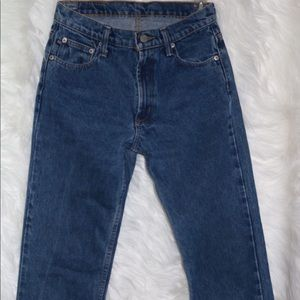Ralph Lauren Blue Mom Jeans (Vintage)